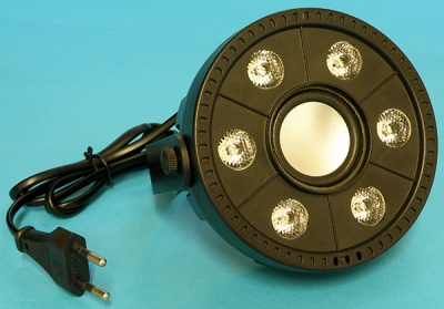 RAPEX: LED party light and speaker (fixed luminaire) - serious risk